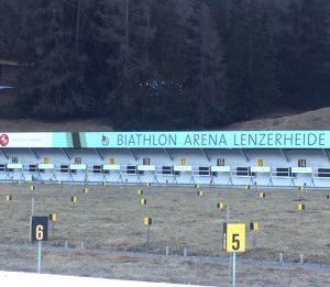 terrain de biathlon