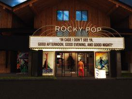 Le Rocky Pop Hotel, nouvel établissement 3-étoiles des Houches à Chamonix.