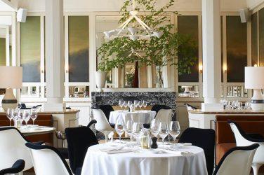 La salle du restaurant Loulou au Musée des Arts Décoratifs