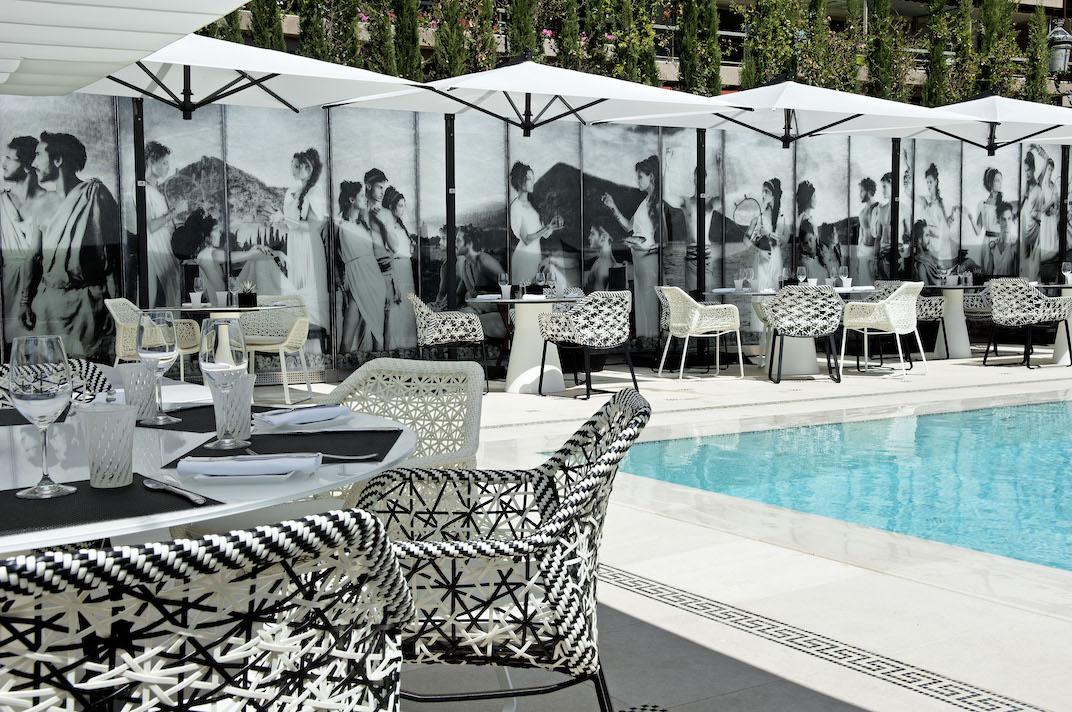 L'espace Odyssey de l'Hôtel Métropole à Monte-Carlo