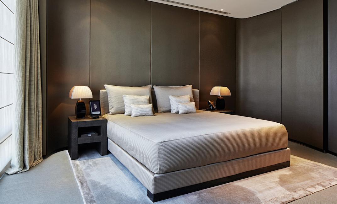 Une chambre classic du Armani Hotels de Dubai