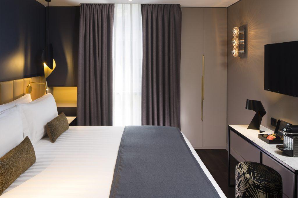 Les chambres de l'Hôtel Le 10Bis