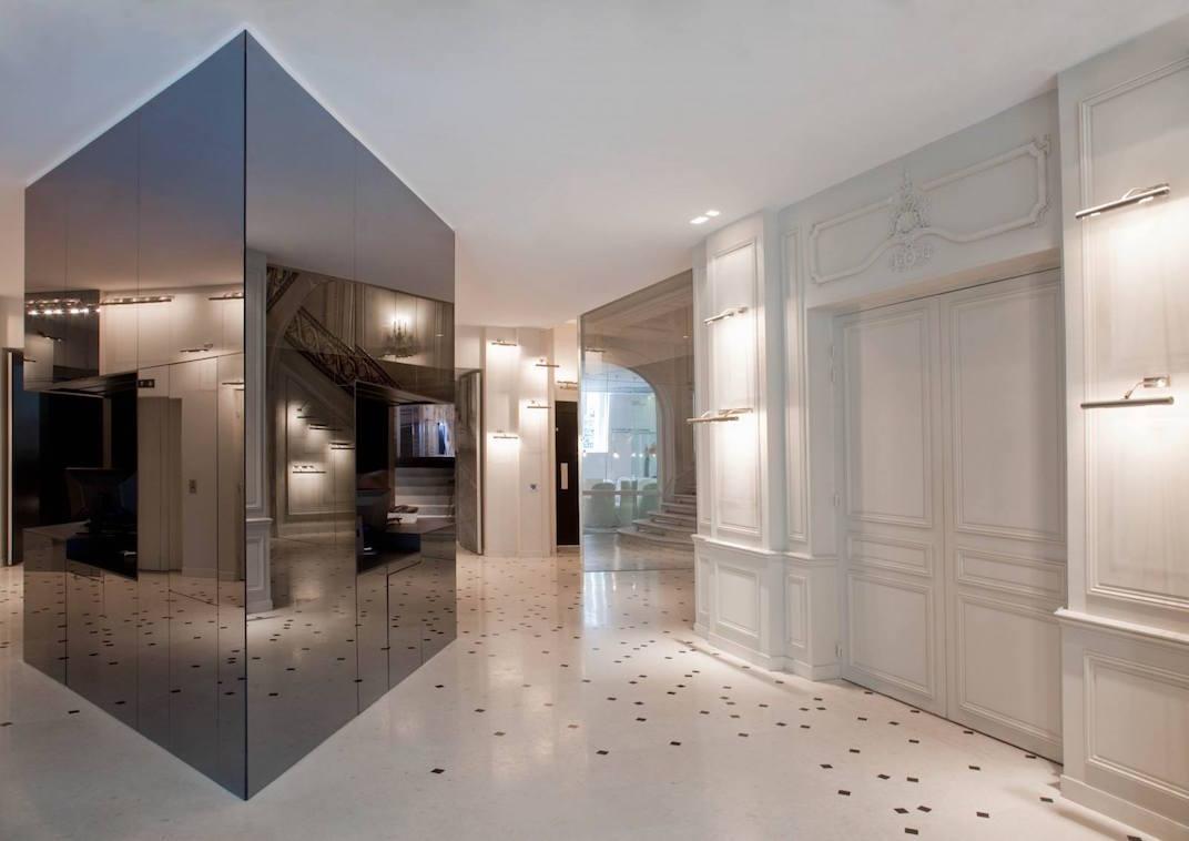 Le hall de réception de la Maison Champs Elysées