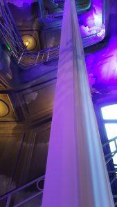 Le grand escalier de l'Hôtel Kolinski