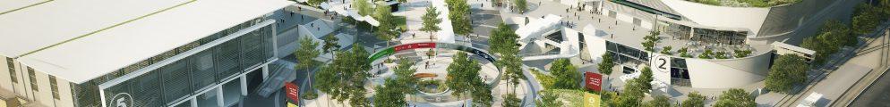 Le site de Paris Expo Porte de Versailles fait actuellement l'objet d'importants travaux de modernisation.