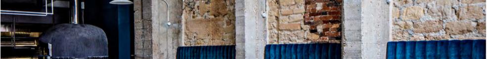 La trattoria Daroco est installée dans l'ancienne boutique de Jean-Paul Gaultier, Galerie Vivienne à Paris.