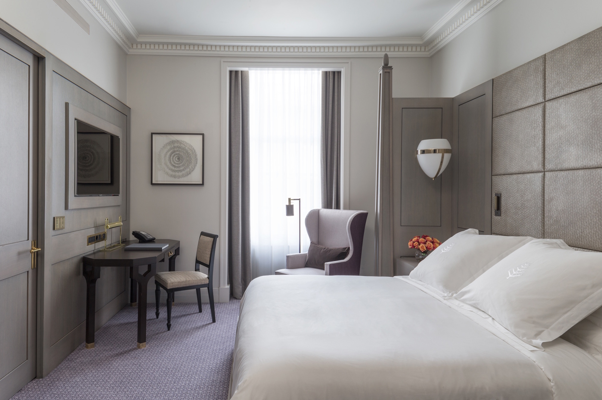 Four Seasons Ten Trinity Square Londres chambre