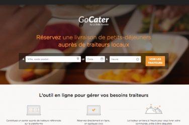 GoCater est la plateforme de commande de plateaux-repas et petit-déjeuners lancée par La Belle Assiette à destination des entreprises en association avec Elior.