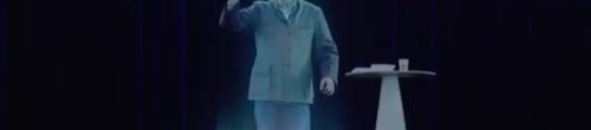 Hologramme Mélenchon