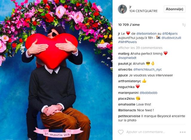 Instagram JR photographe