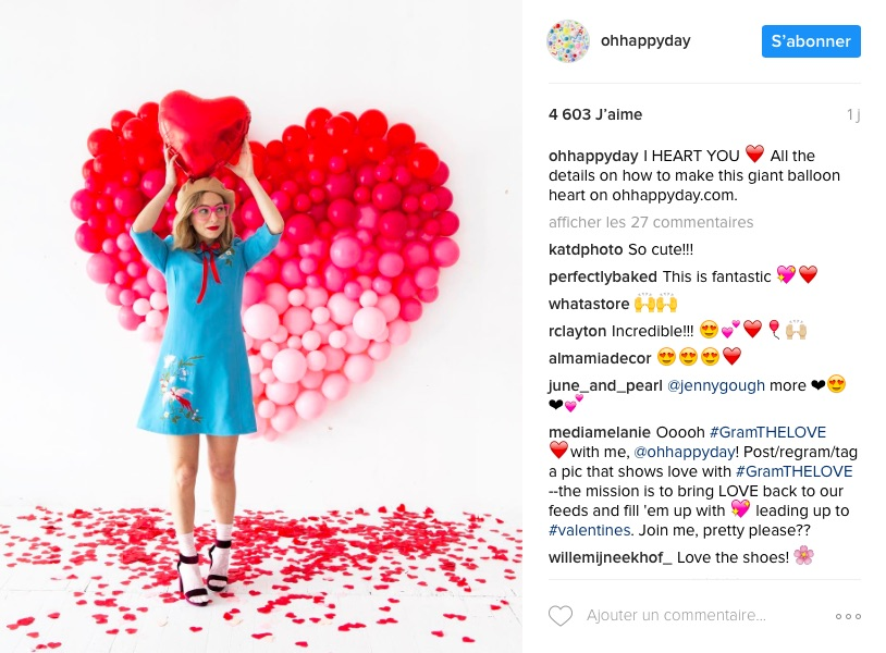 Instagram Oh happy day do it yourself fête
