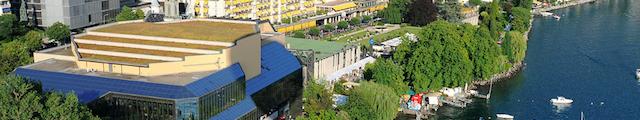 Montreux vue du centre de convention