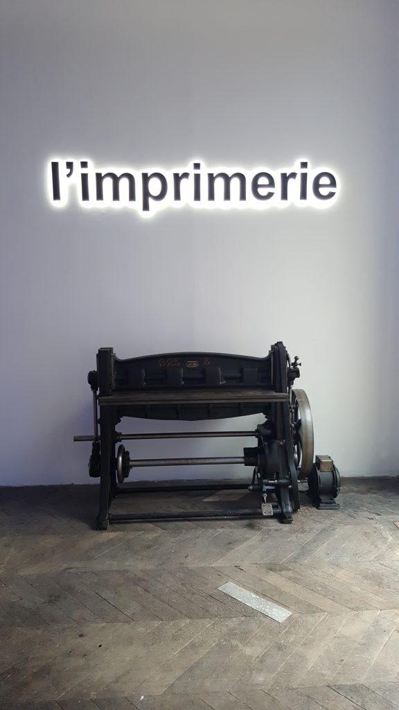 L'Imprimerie lieu événementiel paris