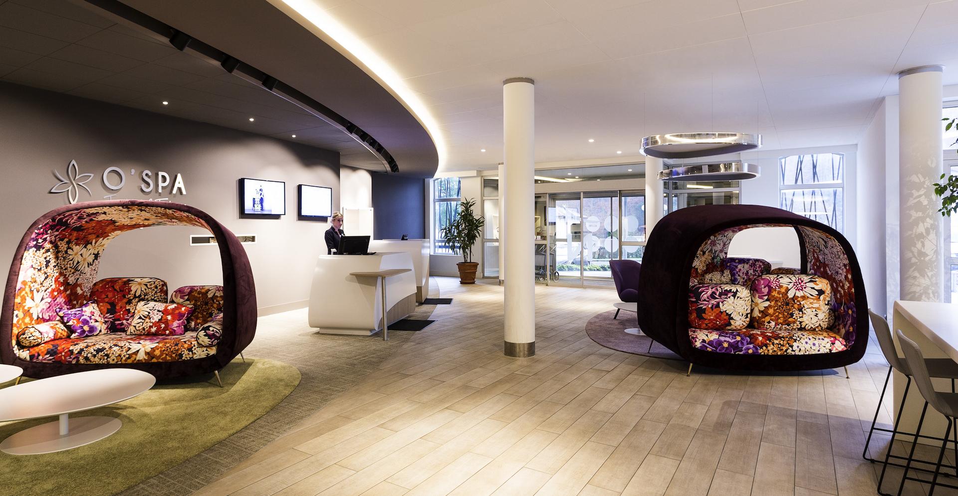 Ambiance loft-cosy pour le lobby