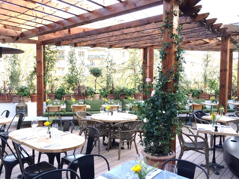 Auteuil Brasserie restaurant terrasse paris