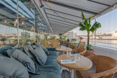 Polpo restaurant terrasse paris événement