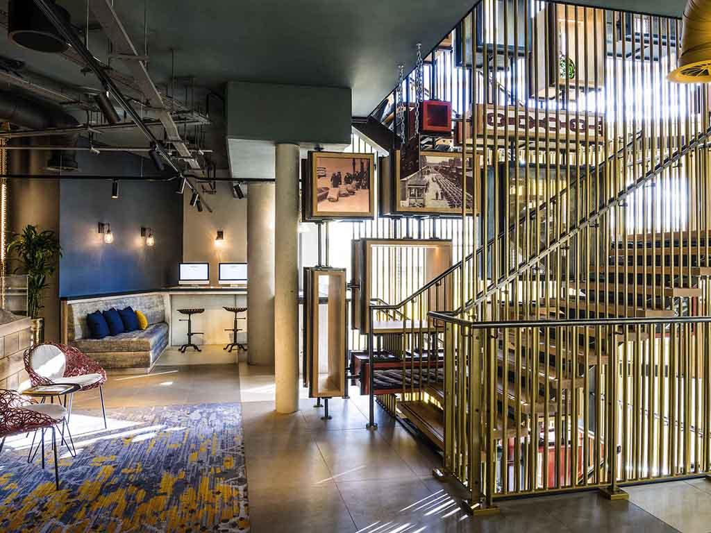 Novotel London Canary Wharf hôtellerie londres accorhotels