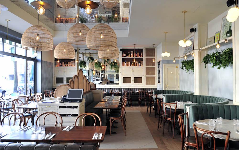 Simonetta restaurant italien paris déjeuner d'affaires