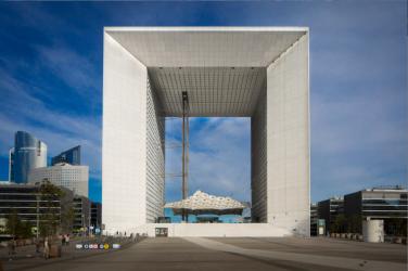 Grande Arche de La Défense paris tous rooftop événementiel