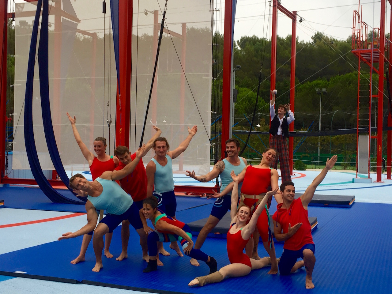 troupe du cirque du soleil