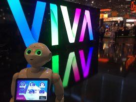 logo Vivatech et Pepper