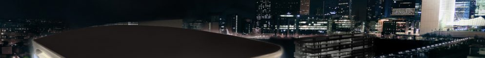 U Arena de nuit