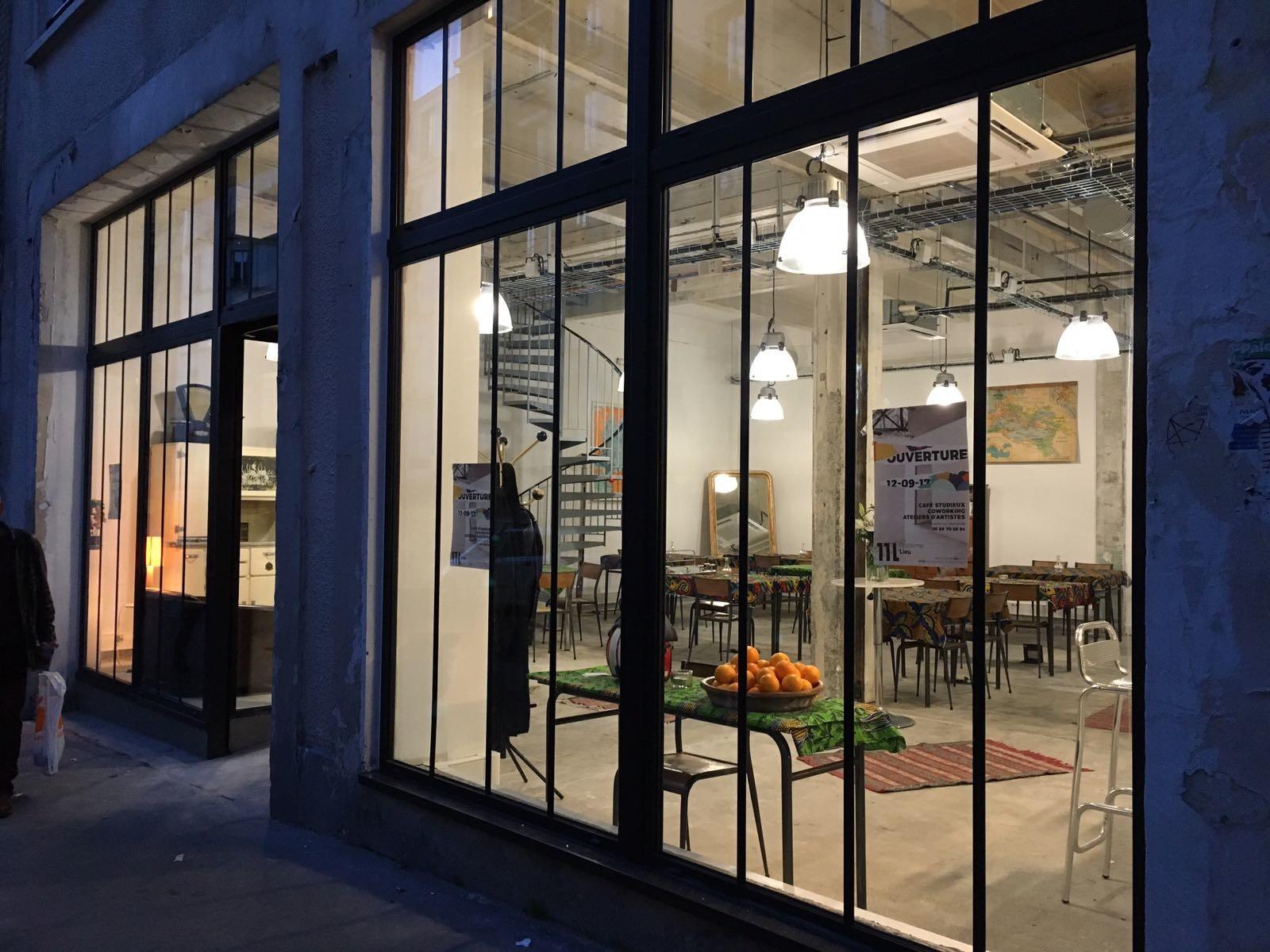Onzième Lieu coworking tiers-lieu Paris
