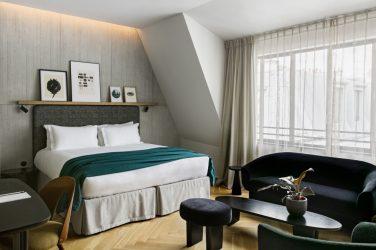 Hotel paris chambre