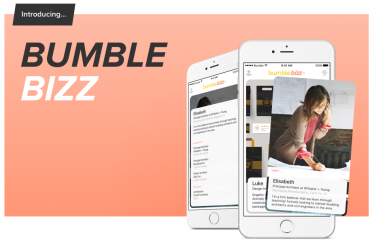 Bumble Bizz application mobile networking