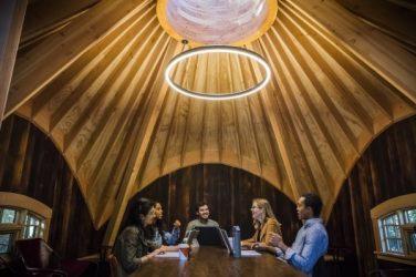 Salles de réunions cabanes dans les arbres Microsoft