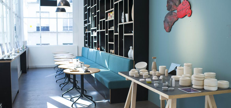 Empreintes concept-store paris café