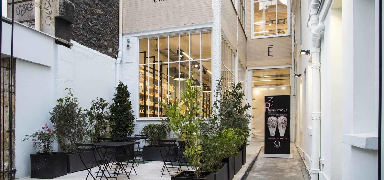 Empreintes concept-store paris annexe terrasse
