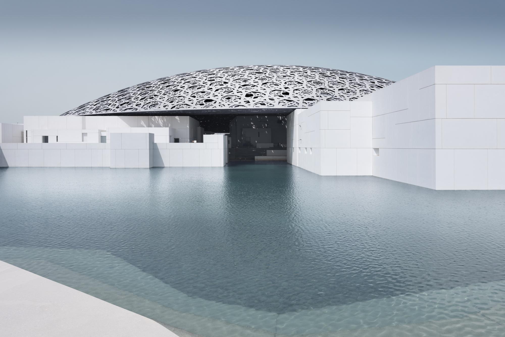 Louvre Abu Dhabi coupole musée
