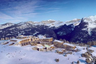 Club Med Samoens Morillon vue d'ensemble
