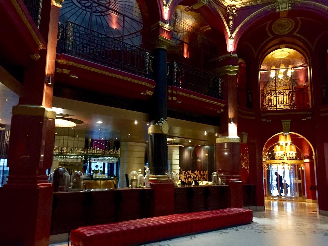 lobby hotel Banke