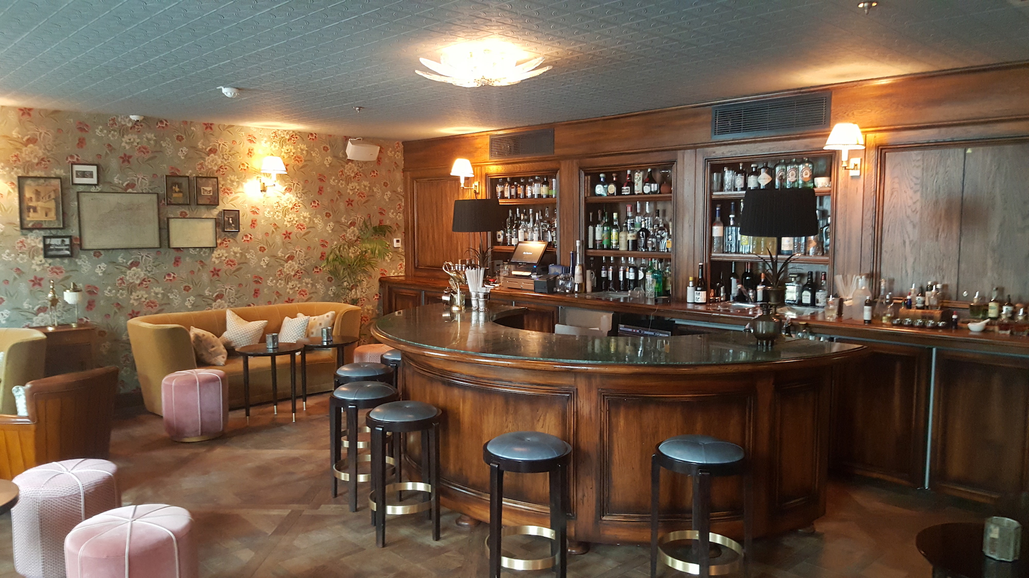 Bar hôtel paris