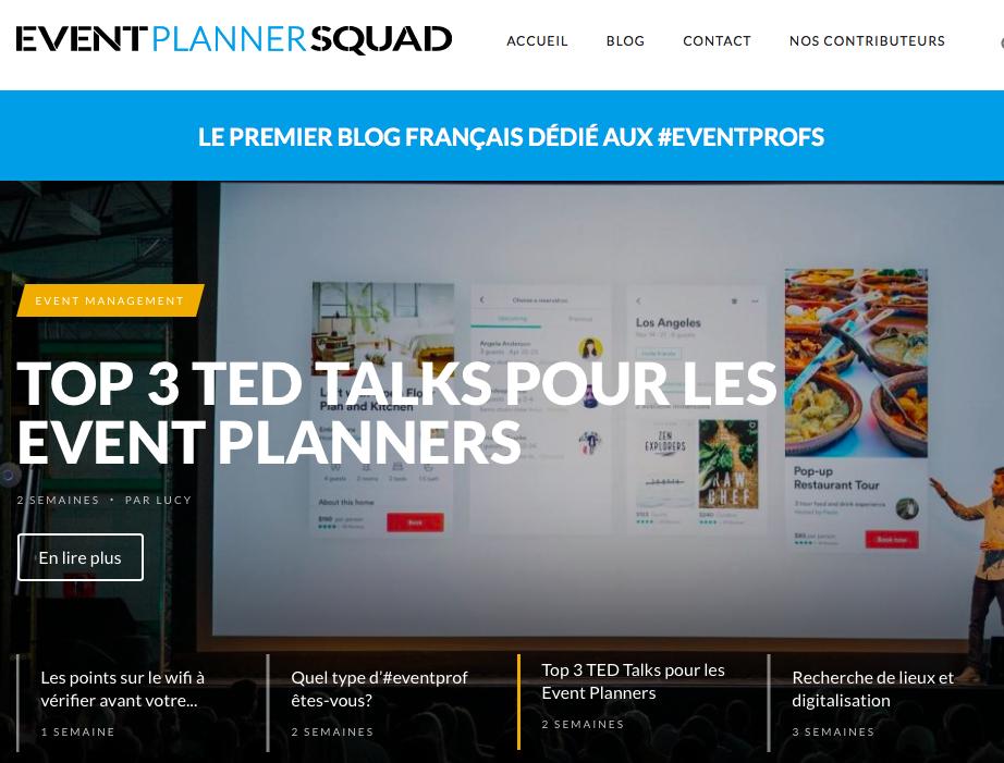 site event planner squad