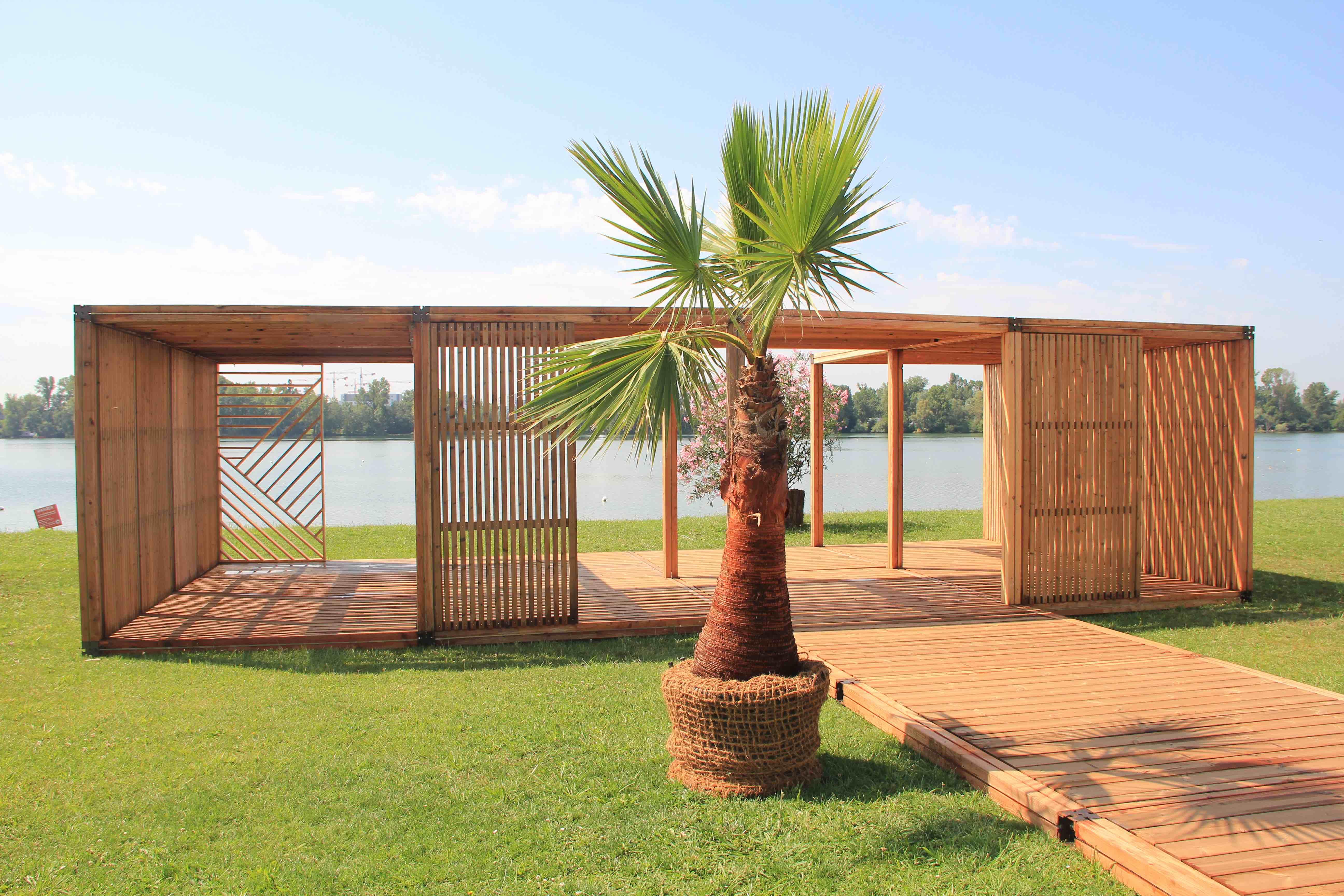 Ephemere Square _ structures esthétiques et durables