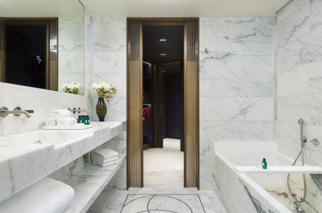 Lutetia salle de bain