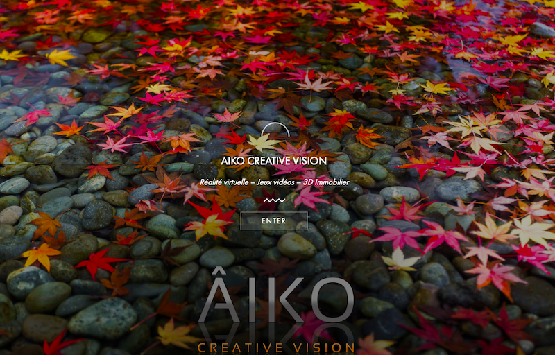 Aiko Home page