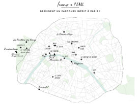 carte de Paris Society Places
