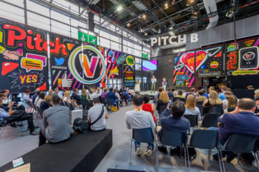 Vivatech Pitchs zone