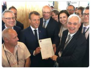 G7 certification président Macron